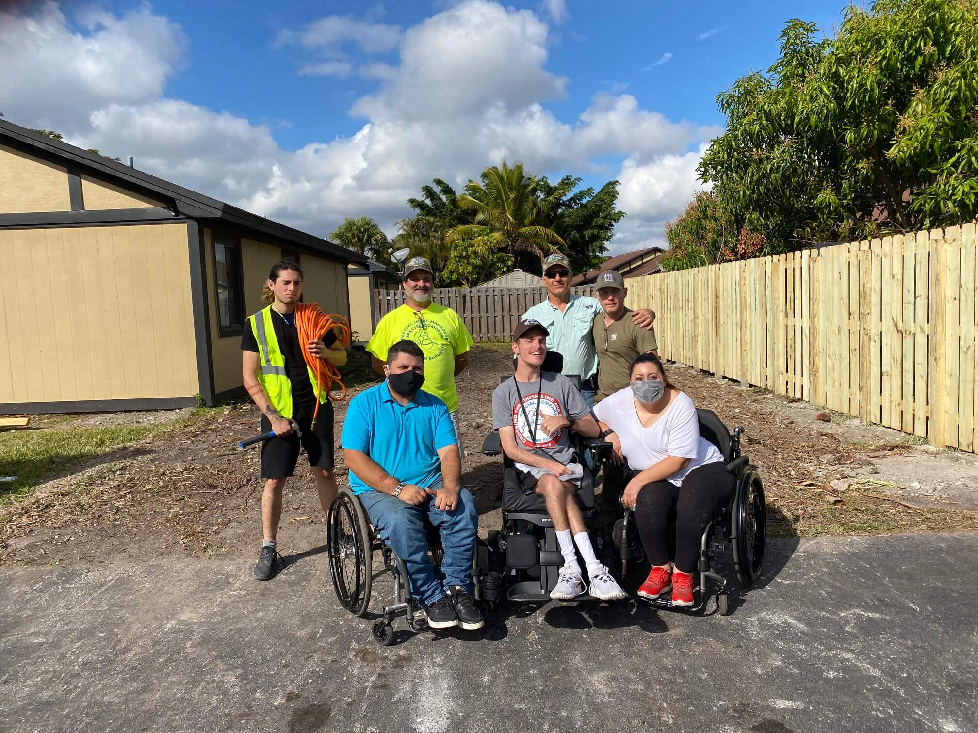 Home makeover for a disabled married couple in Sunrise!