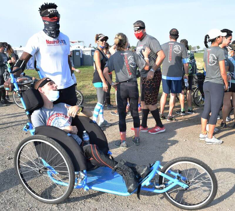 Special Compass lends helping hand during Spartan Race